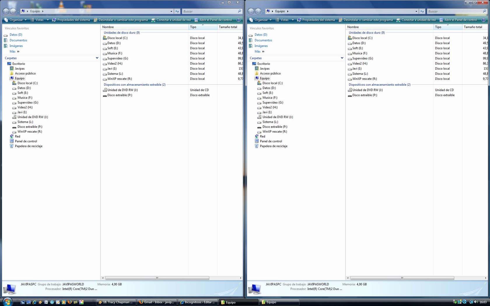 Truco del mes de Windows Vista: mostrar ventanas en paralelo ...