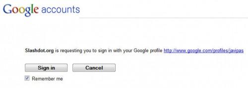 OpenID y Google 3