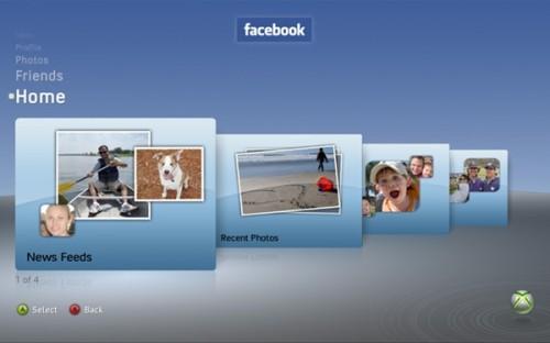 Xbox 360 Facebook