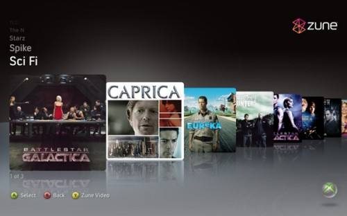 Xbox 360 Zune