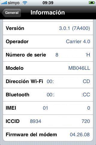 iPhone 3.1.2 0
