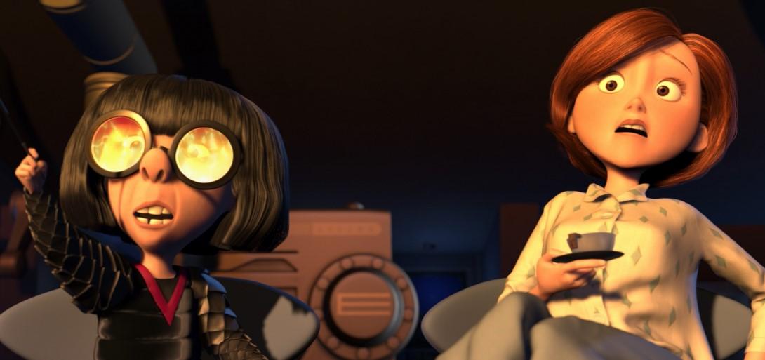 Edna es sin lugar a dudas uno de mis personajes favoritos en toda la filmografía de Pixar.